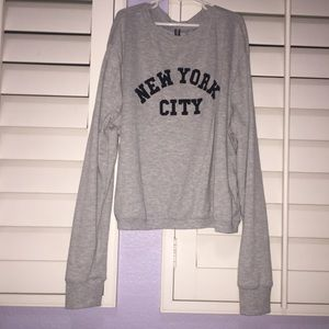 H&M Gray Sweatshirt